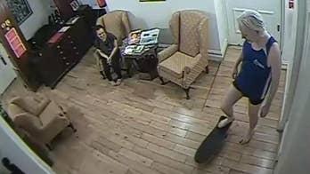 Video shows Julian Assange skateboarding in Ecuadorian embassy, arguing with security guards