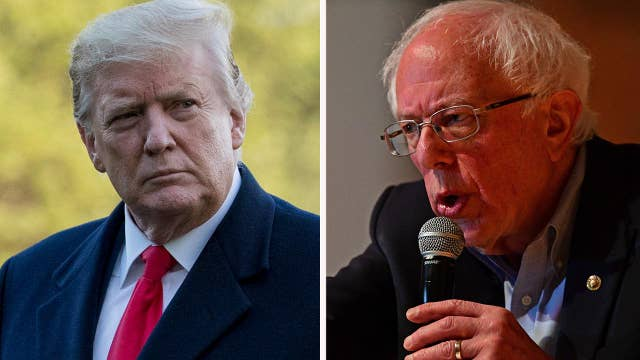 Trump, Bernie Sanders deliver two different messages to the American people