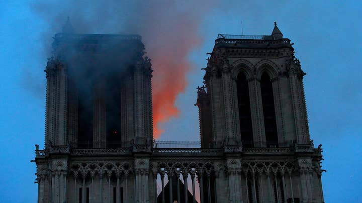 Notre Dame sustains 'colossal damages' after flames engulfed the cathedral