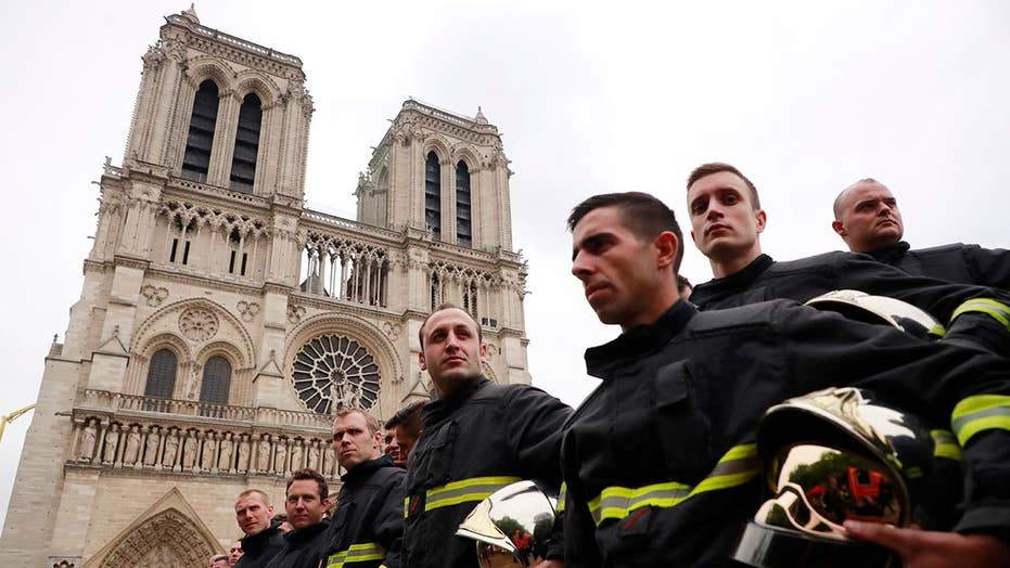 French firefighters announce Notre Dame Cathedral fire is out