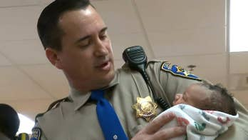 Police officer delivers, saves baby's life on California highway