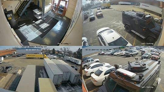 Police release footage of Aurora, Illinois warehouse shooting