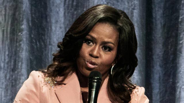 Michelle Obama criticized for comparing Trump era to 'living with divorced dad'