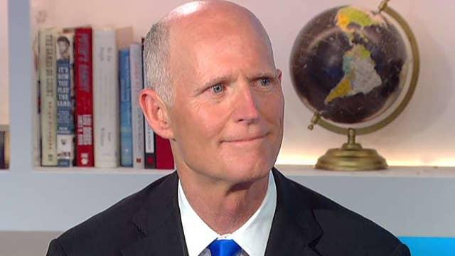 Sen. Scott on border crisis, dustup with Sen. Schumer on Puerto Rico disaster aid
