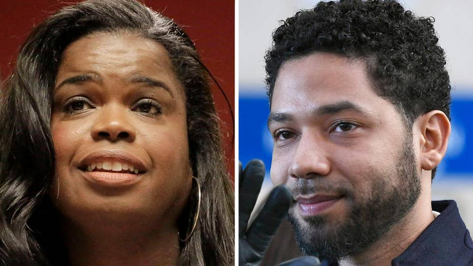 Kim Foxx called Jussie Smollett a 'washed up celeb who lied to cops'