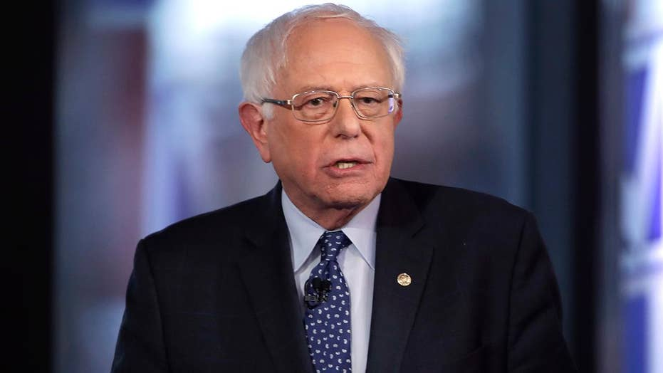 Bernie Sanders says he does not want his policies to add to the national debt