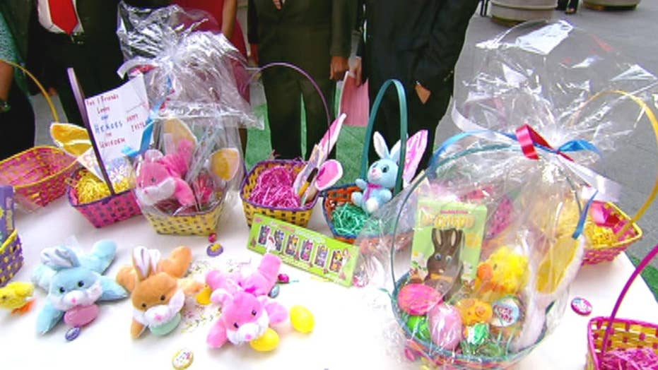 Operation Basket gives back to military families during the Easter holiday