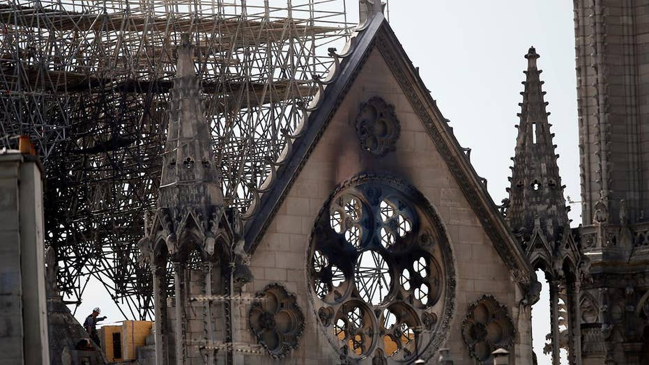 Daylight brings dramatic new images of the damage done by the Notre Dame fire