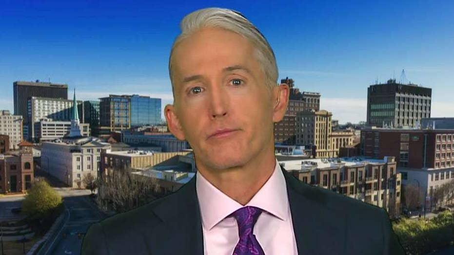 Trey Gowdy is 'not a fan' of releasing the full Mueller report