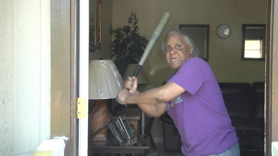 Florida woman whacks half-naked attacker with bat: 'He better be glad I didn't have a gun'