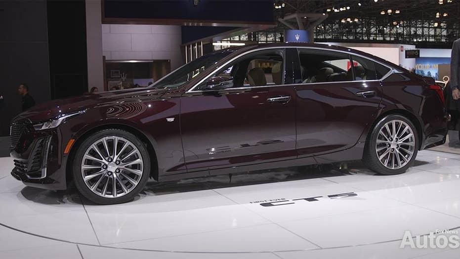 Hands Off Semi Autonomous 2020 Cadillac Ct5 Debuts At New York