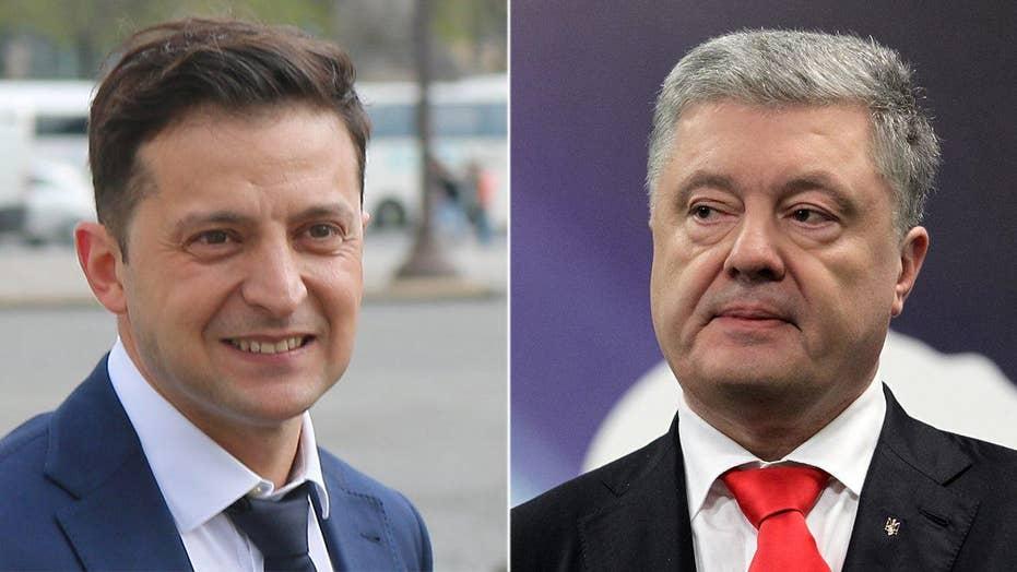 Comedian could unseat Ukraine's Poroshenko in this Sunday's presidential runoff