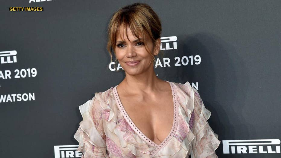 Halle Berry's steamy Instagram snap with unbuttoned jacket ... Halle Berry Instagram