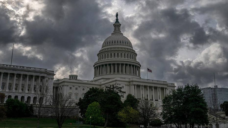 Chaos on Capitol Hill causing financial anxiety