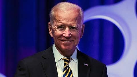 WATCH: Former VP Biden speaks in support of UFCW workers on strike