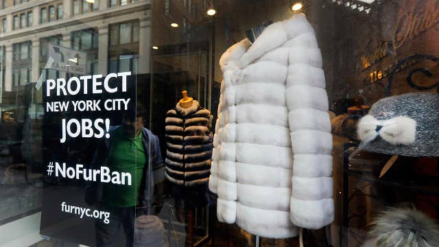 New York fur ban pushed by some city, state lawmakers