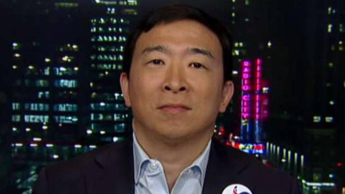 Yang: Companies like Amazon will fund my Universal Basic Income plan