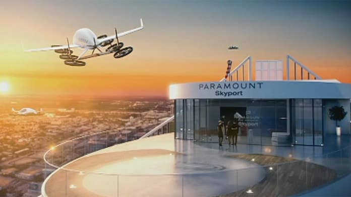 Developer in Miami adds 'skydeck' for flying cars to luxury building