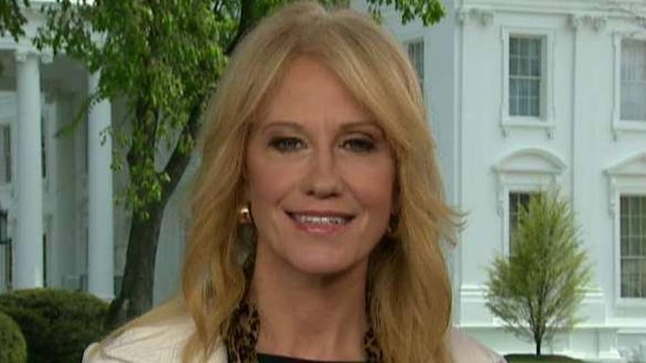 Kellyanne Conway: Mueller probe was a political proctology exam and Trump emerged with a clean bill of health