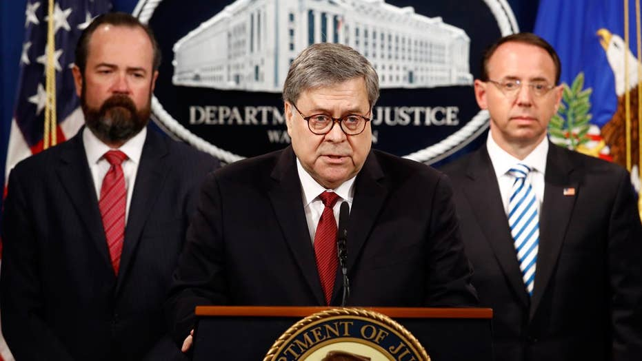Judge Napolitano: AG Barr releases the Mueller Report