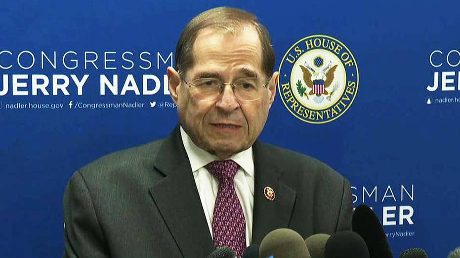 Jerry Nadler calls for Robert Mueller to testify on Capitol Hill, DOJ to provide unredacted Mueller report