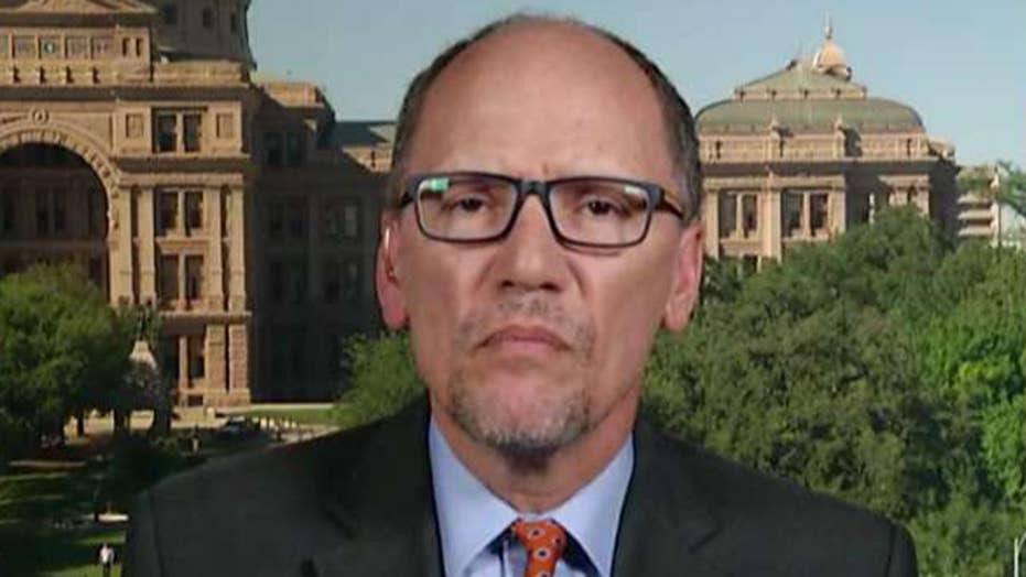 DNC chair Tom Perez on release of the Mueller report: A sad day for the institution of the presidency