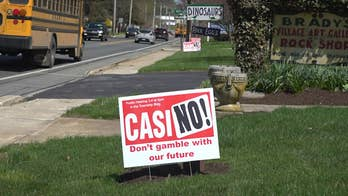 A proposed mini-casino in Amish Country divides rural town