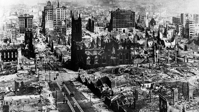 San Francisco marks 113 years since the powerful 1906 earthquake left the city in ruins
