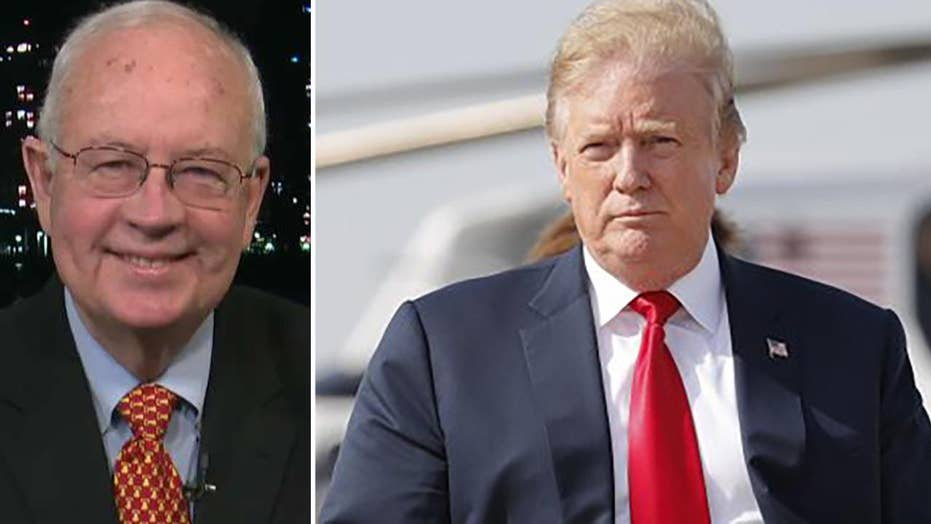 Ken Starr praises Trump's 'unprecedented cooperation' with the Mueller probe