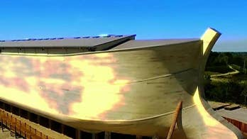 Todd Piro gets an inside look at a life-sized Noah's ark in Kentucky