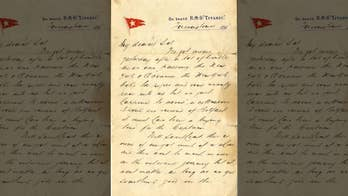 Titanic victim's long-lost letter surfaces