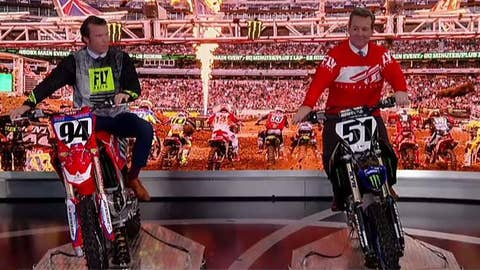 'Fox & Friends' gets 'virtual' lesson in motorcycle racing