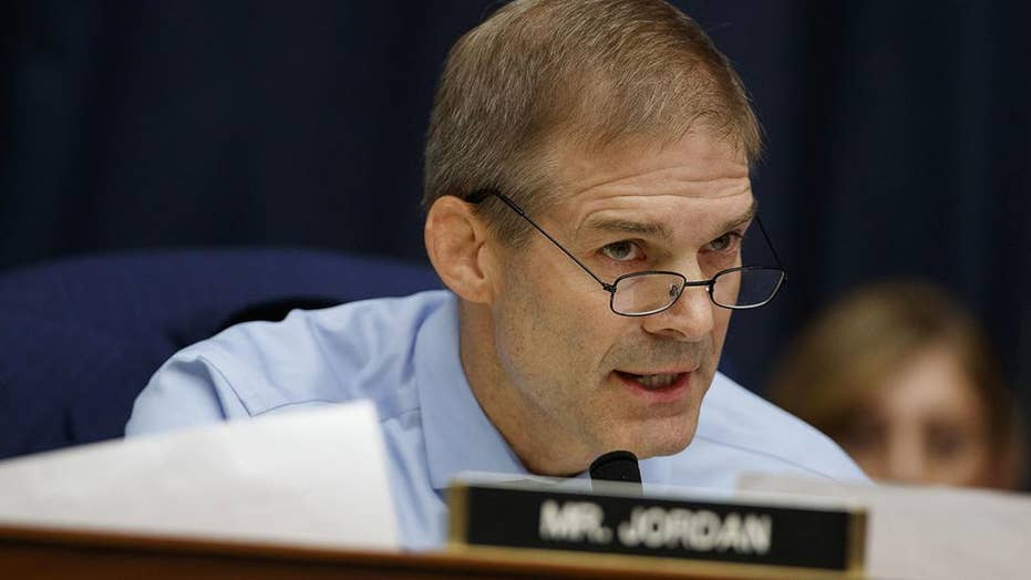 Rep. Jim Jordan on plans to investigate the origins of the Russia collusion investigation