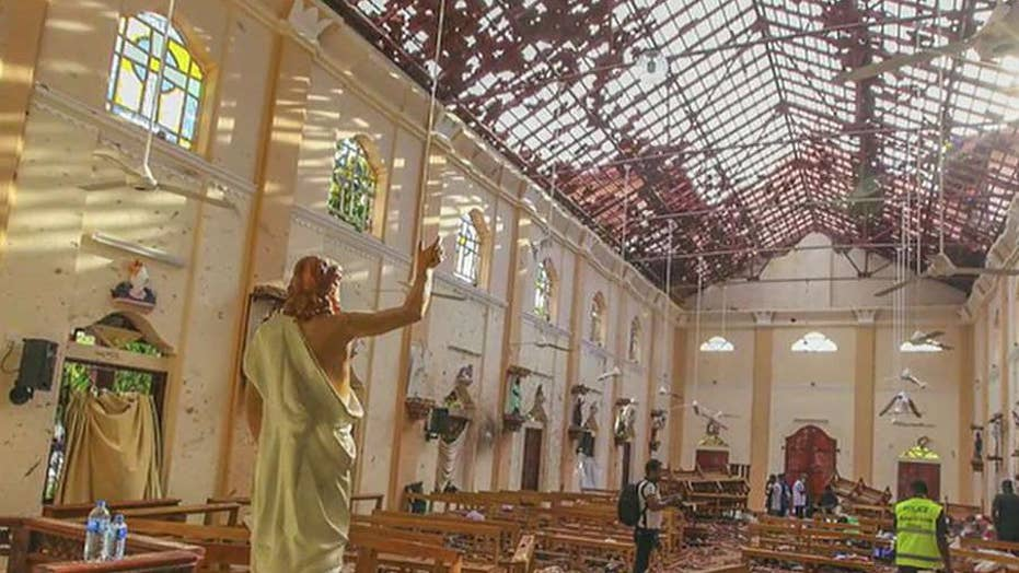 Death toll expected to rise following deadly Easter Sunday attacks in Sri Lanka