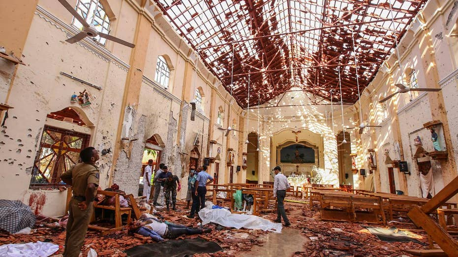 World reacts to Easter Sunday attacks in Sri Lanka