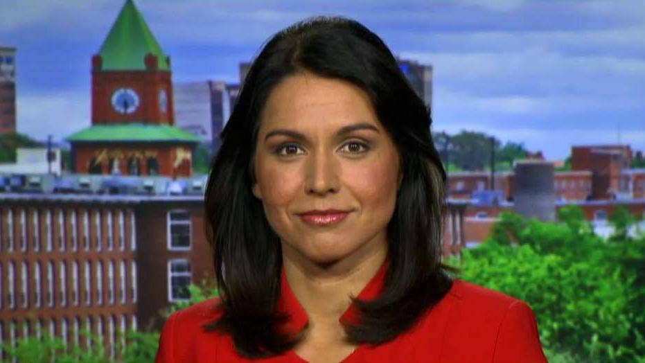 Rep. Tulsi Gabbard says American voters, not Congress, should remove Trump from office