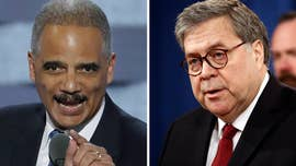 Deroy Murdock: Obama crony Eric Holder should stop lecturing William Barr on legal ethics