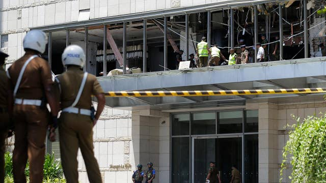 Sri Lanka points to Islamic militants in series of attacks on churches and hotels