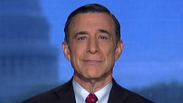 Darrell Issa: Democrats using investigations to stop Trump re-election