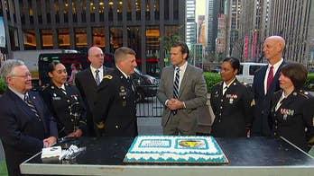 US Army Reserve celebrates 111th birthday on 'Fox & Friends'