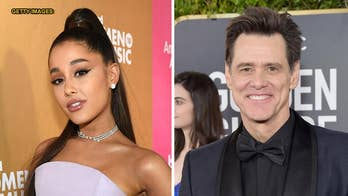 Jim Carrey and Ariana Grande share sweet Twitter exchange about mental health