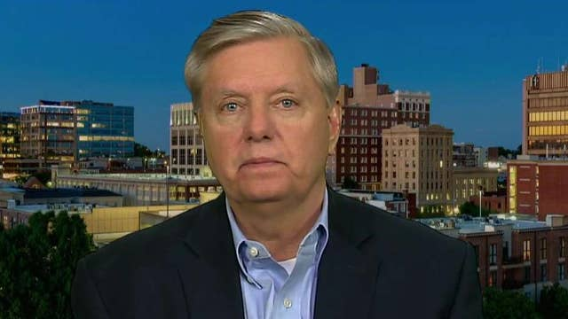Sen. Lindsey Graham expects a 'stampede' to impeach President Trump