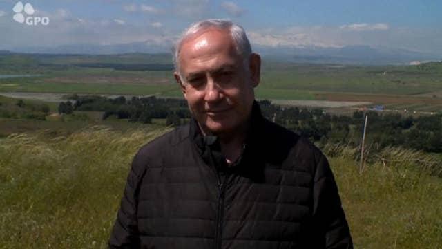 Netanyahu wants to dedicate new Golan Heights settlement to President Trump