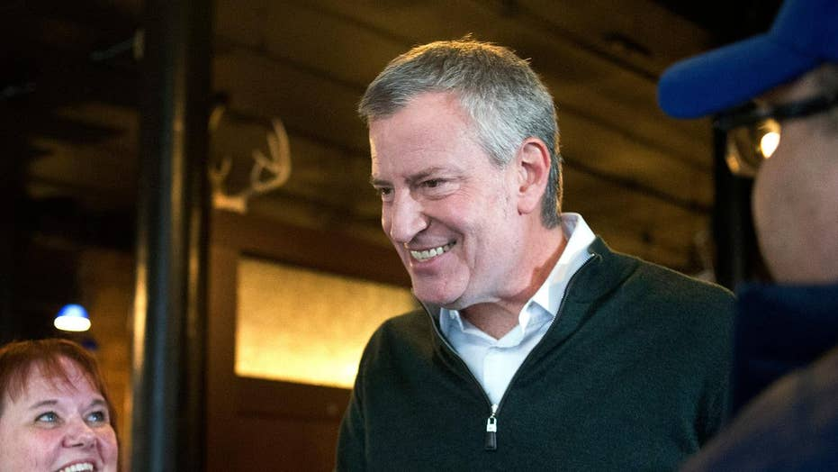 Green New Deal behind in concentration as NYC Mayor Bill de Blasio proposes check banning emasculate skyscrapers