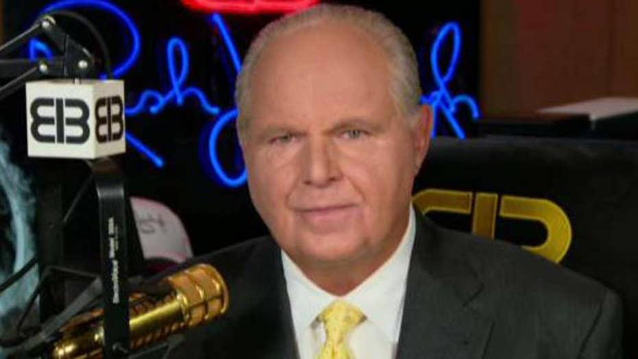 Rush Limbaugh: Joe Biden is the Democrats' best chance to beat Trump and he doesn't have a shot