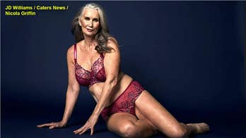SIZZLING PICS: Mom, 59, becomes lingerie model at daughters' urging