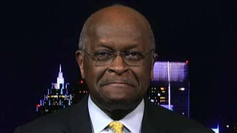 Herman Cain explains decision to withdraw from Federal Reserve Board nomination process