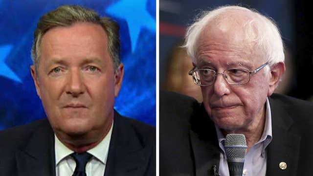 Piers Morgan says Bernie Sanders' call to let felons vote is 'utter lunacy'