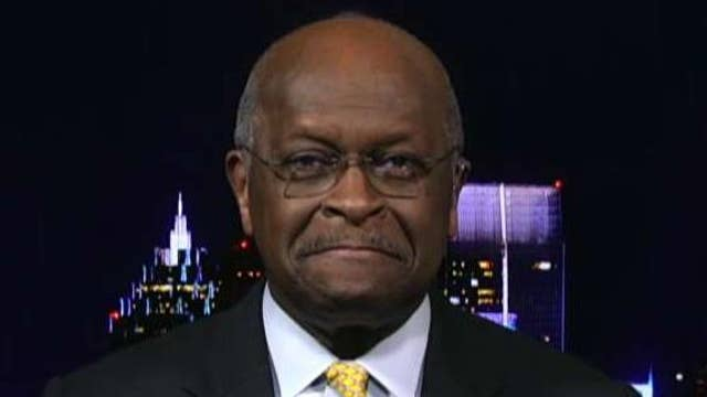 Herman Cain explains his decision to withdraw from the Federal Reserve Board nomination process