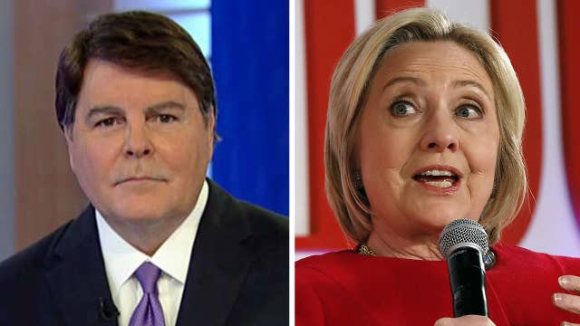 Gregg Jarrett on Hillary Clinton's claim the DOJ gave Trump a pass: Her hypocrisy is breathtaking